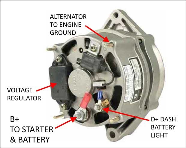 Bosch 24 Volt Alternator Wiring Diagram, Bosch 24 Volt Alternator Wiring Diagram