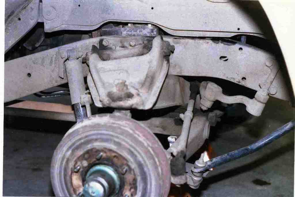 1960 62 Front Suspension Upgrade The 1947 Present Chevrolet Gmc Truck Message Board Network