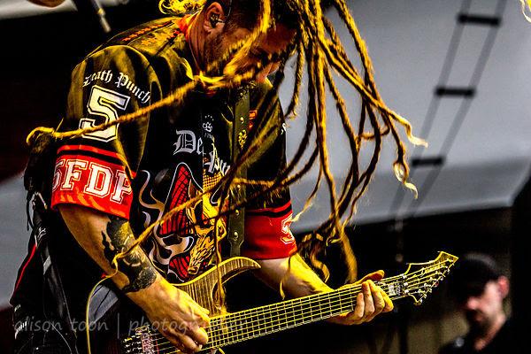 Zoltan Bathory, guitar, Five Finger Death Punch
