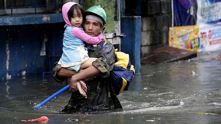 El tifón Usagi causa 25 muertos y numerosos daños en China