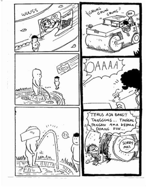 komik pendek lucu buatan indonesia