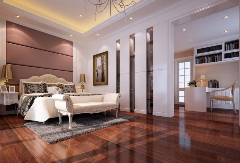 Delightful Master Bedrooms with Hardwood Floors – Master ...