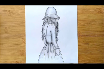 10+ Best For Girl Easy Pencil Sketch Drawing