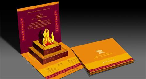 Invitation Cards Design and Printing for Maharashtrian Wedding