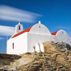 Mykonos churches by Vasilis Tsikkinis (Vasilis_Tsikkinis) on 500px.com