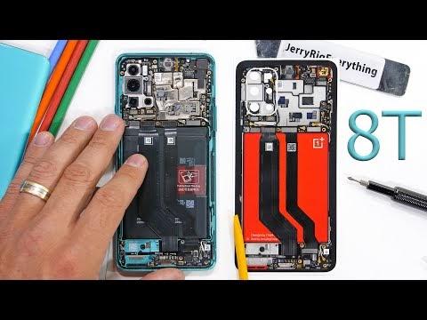 OnePlus 8T teardown video shows unique dual battery setup