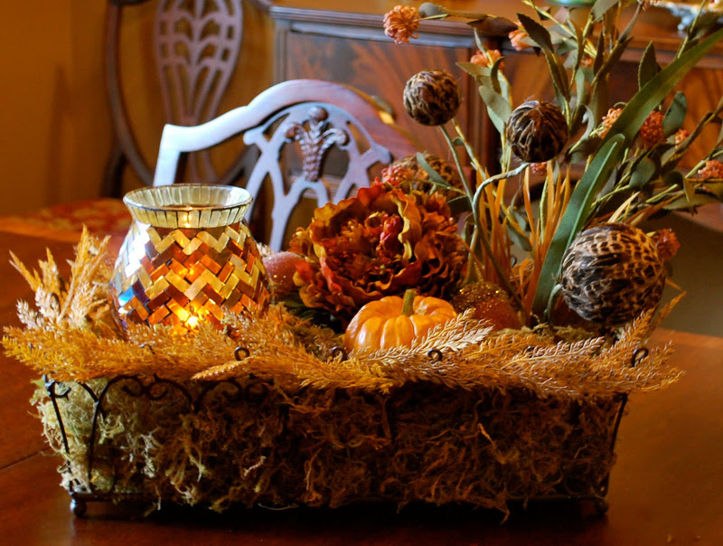 DIY Friday: Easy Fall Centerpiece | BetterDecoratingBible