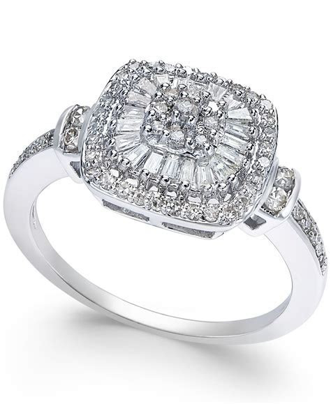 Macy's Diamond Vintage inspired Engagement Ring (1/2 Ct. T