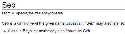 http://en.wikipedia.org/wiki/Seb