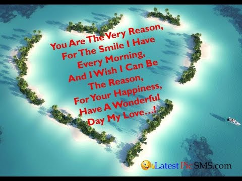 Good Morning My Love English SMS