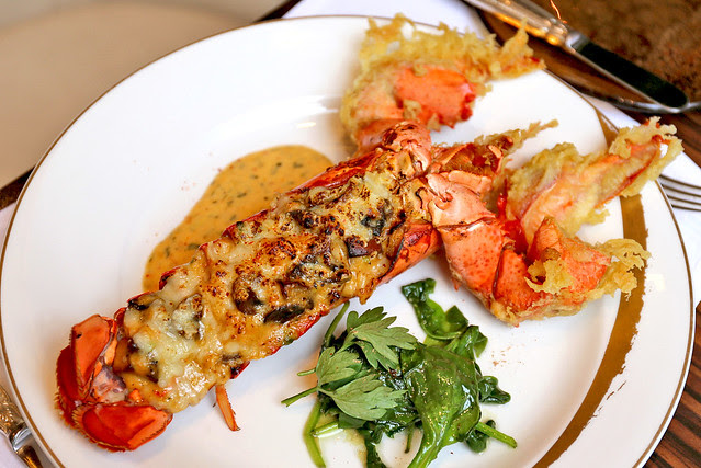 Le Homard Thermidor - lobster thermidor