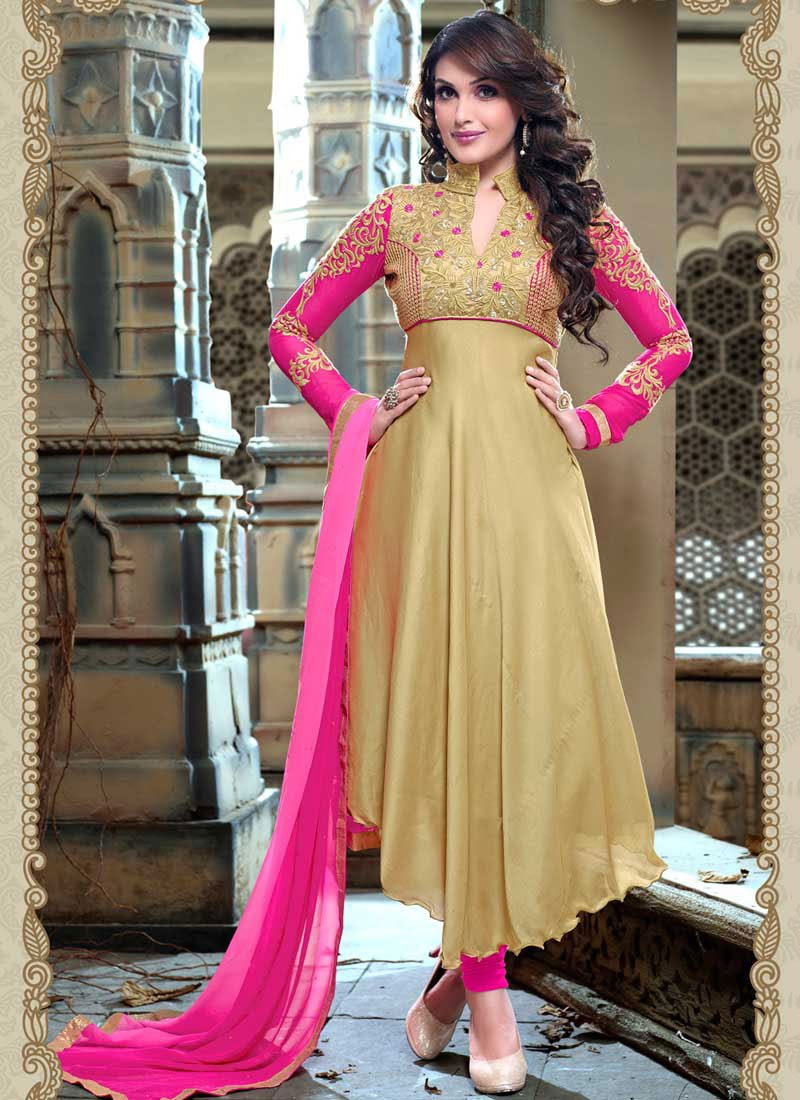 latest indian ethnic wear dresses  stylish suits formal