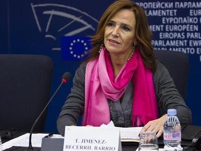 Intervención de la eurodiputada Teresa Jiménez Becerril en el discurso a favor del Euro Orden, el 13/12/2010. http://www.teresajimenezbecerril.eu/