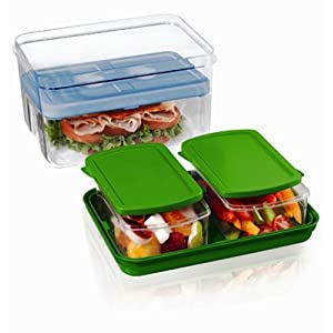 Fit & Fresh Lunch on the Go (Colors May Vary)