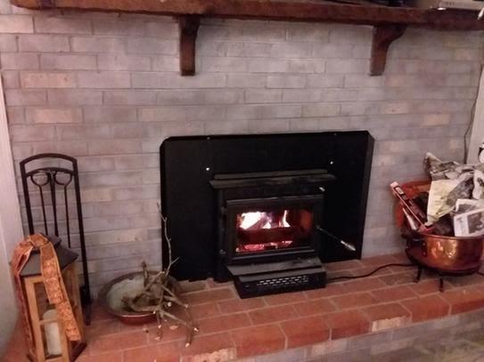 Englander 275 In 1500 Sq Ft Wood, Englander 27 5 In 1500 Sq Ft Wood Burning Fireplace Insert