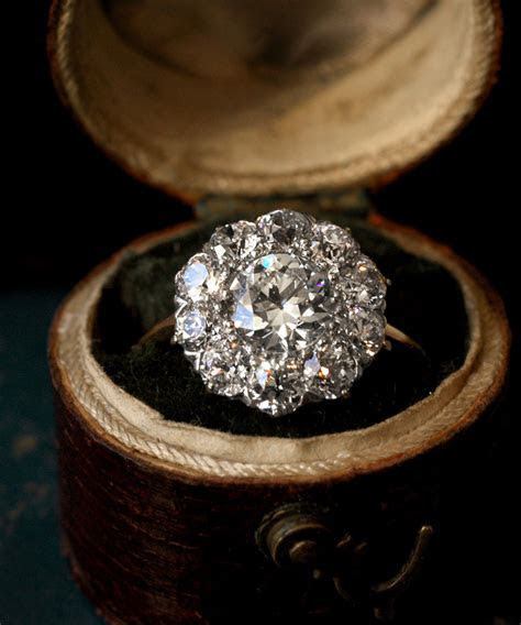 Lovely Antique Engagement Rings at Erie Basin in Brooklyn