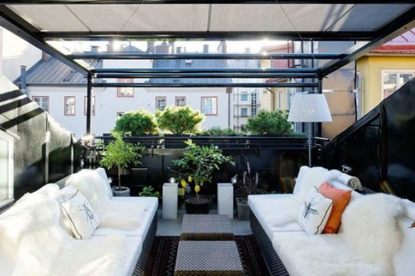 Modern Contemporary Duplex Apartment Decorating Design Riveting ...