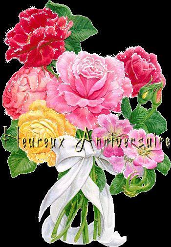 Photograph Anniversaire Bouquet De Fleurs Deja Allena