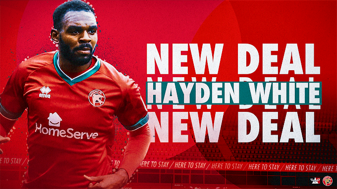 Hayden White Signs New Two-Year Walsall Deal