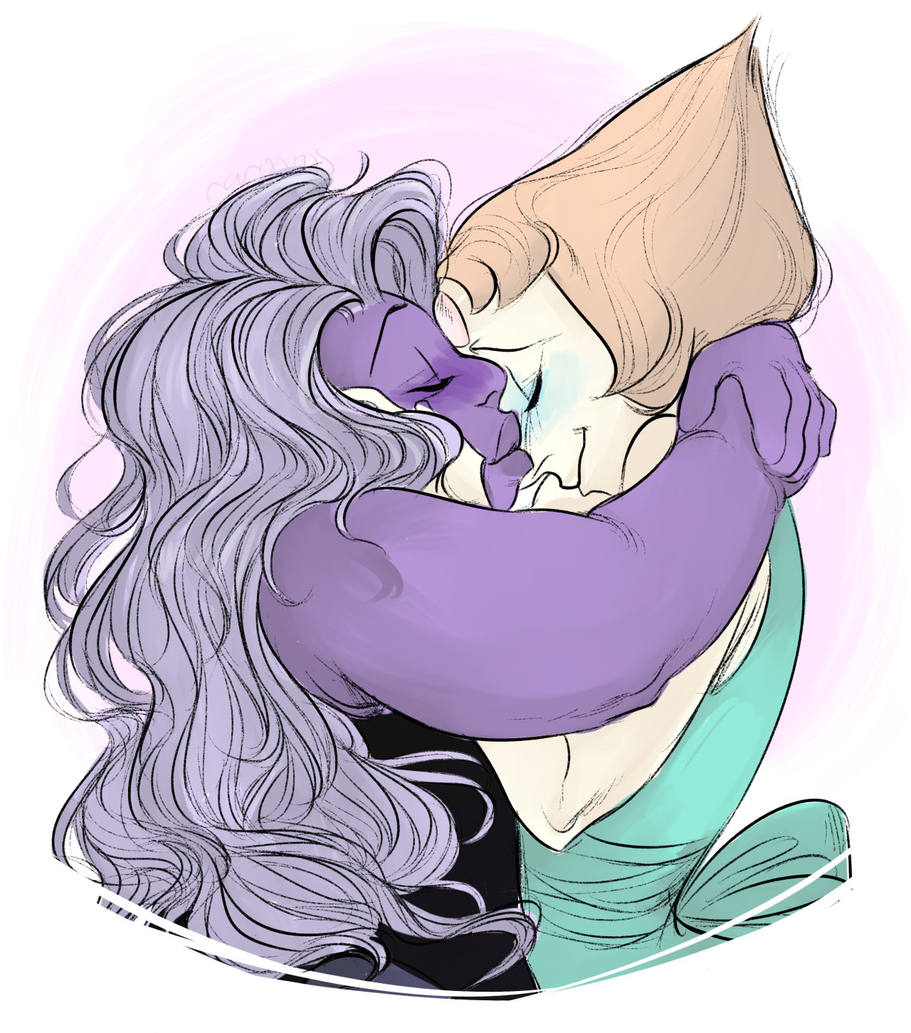happy birthday @nagisakaworu have some pearlmethyst!! ! !!