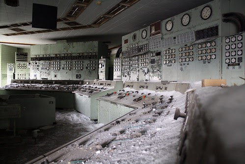 The Hearn control room