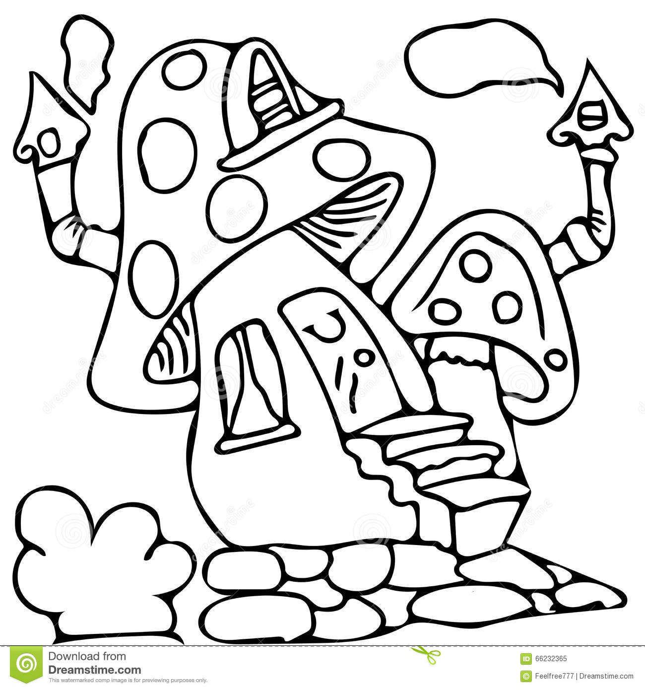 Fairy House Drawing at GetDrawings | Free download