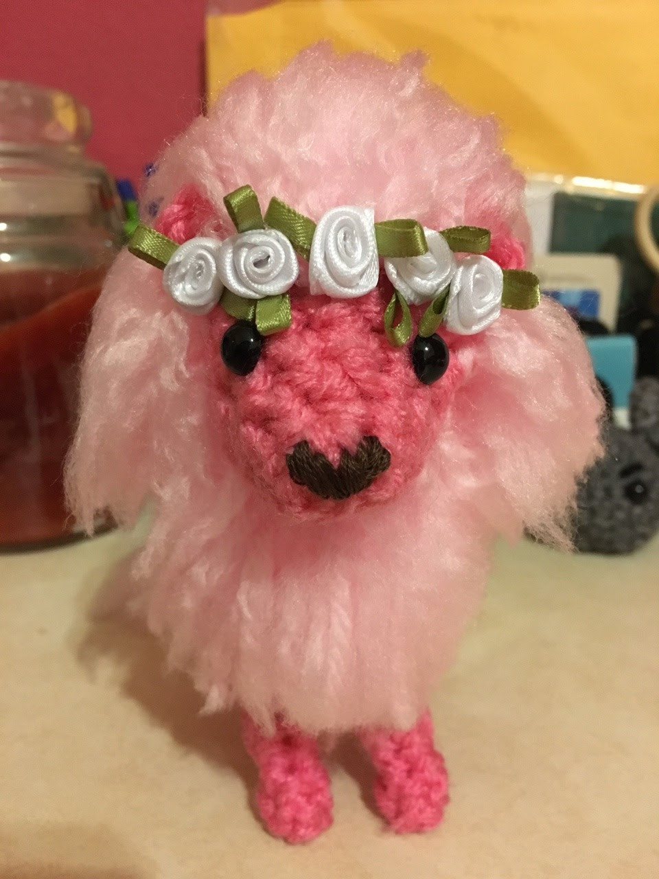 back by popular demand!! you can buy this lil guy in my etsy shop :)