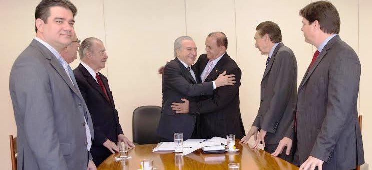 Escorcio com Michel Temer; prestígio de Sarney, Lobão, Cid Gomes, e deputados federais maranhenses
