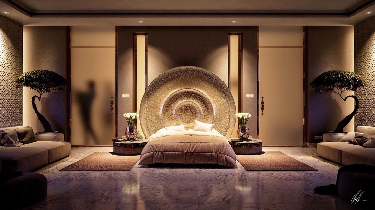 Stunning Bedrooms with Unique Lighting Designs - Master ...