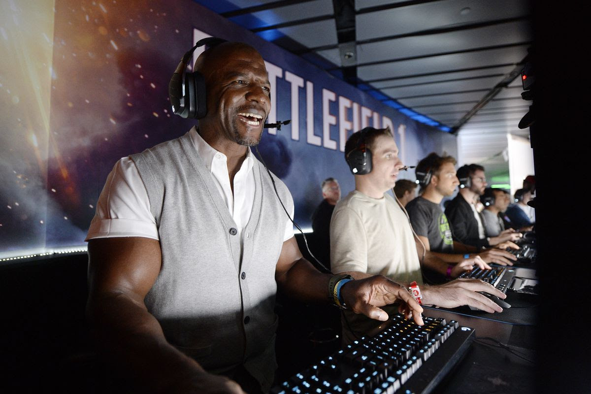 Terry Crews might have whooped you in PlayerUnknown's Battlegrounds screenshot