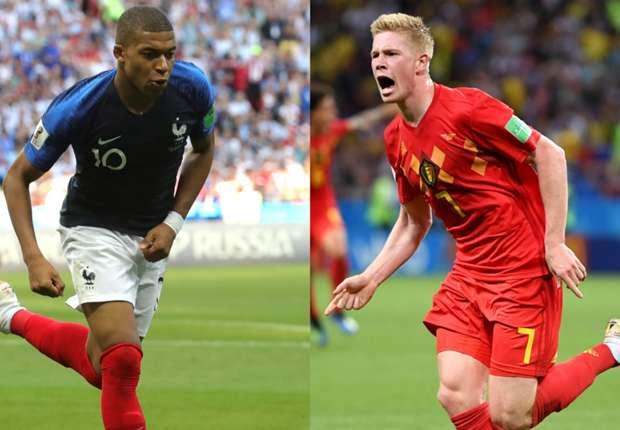 """Αποτέλεσμα εικόνας για france vs belgium football game, """"JULY 10, 2018"""""""