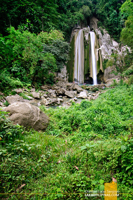 Lush Vegetation at Iligan City's Dodiongan Falls