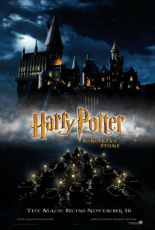 Harry Potter And The Sorcerers Stone Poster 2