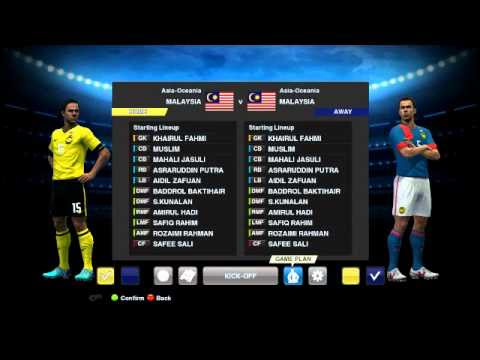 Pro Evolution Soccer 2013 Patch Malaysia