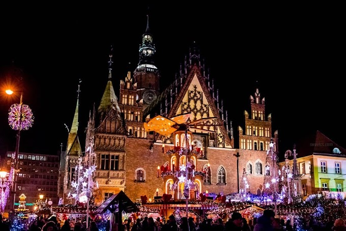 Christmas Fairy in Krakow