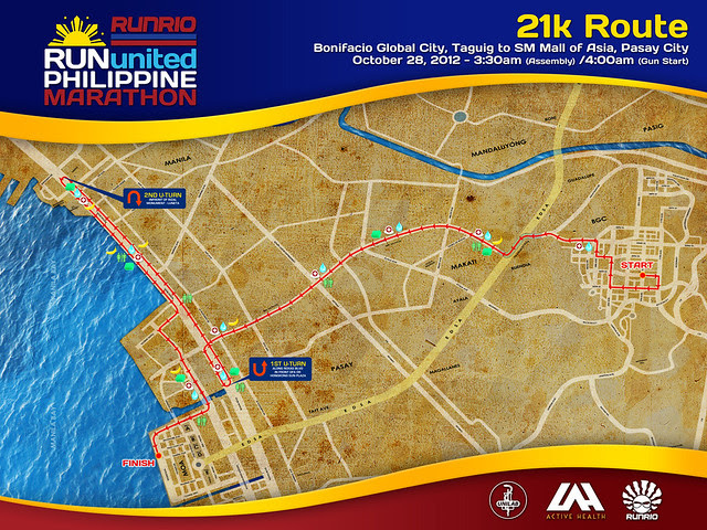 RUPM ROUTE MAP 21k updated road route