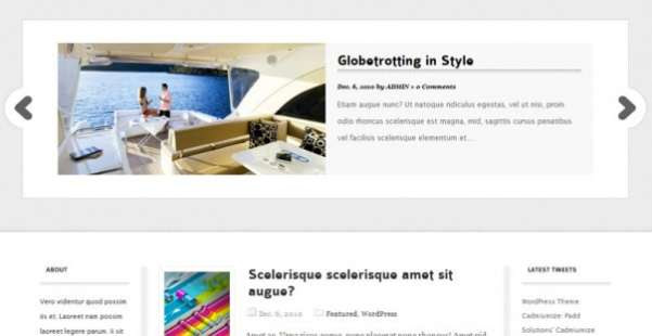 Cadmiumize  Best WordPress Theme