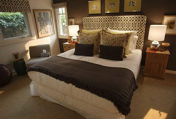 Trellis Headboard - Transitional - bedroom - OC Register