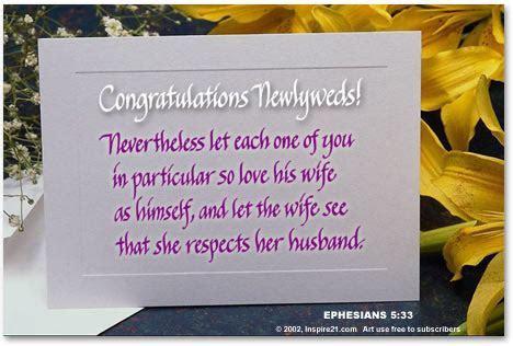 Congratulations Newlyweds    Inspire 21