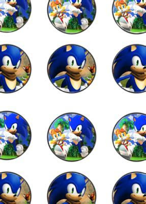Sonic Birthday Party Printable Files   Kids Parties Free