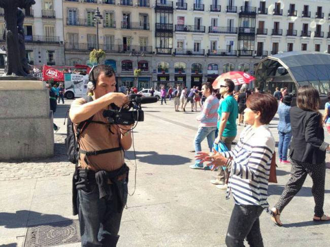Peruanos en el Mundo: Al cruzar la puerta de Alcalá…