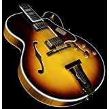 Gibson Custom Shop HSLCTVSGH1 Hollow-Body Electric Guitar, Vintage Sunburst