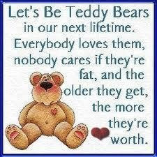 Let's Be Teddy Bears...