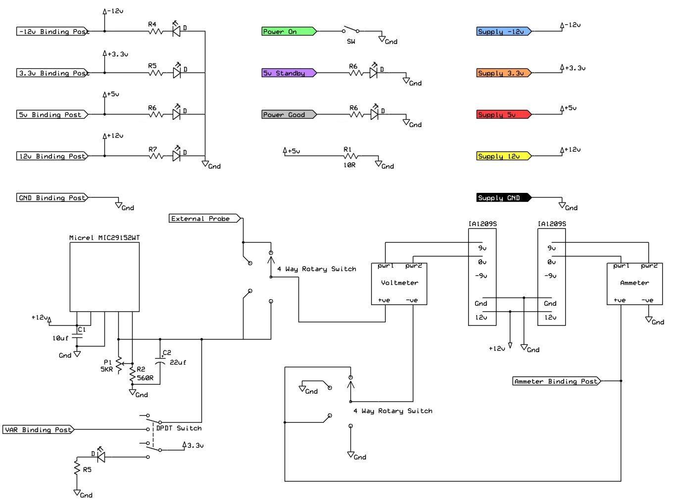 power supply schematicv21