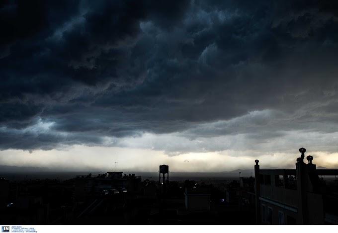 Καιρός: Ψυχρό μέτωπο φέρνει δύσκολο Σαββατοκύριακο – Ισχυρά φαινόμενα