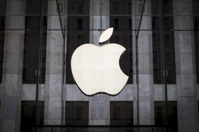 Logo da Apple em Manhattan, Nova York, em foto de julho de 2015