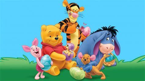 winnie  pooh tigger kangaroo roo piglet eeyore gray donkey painting easter eggs desktop hd