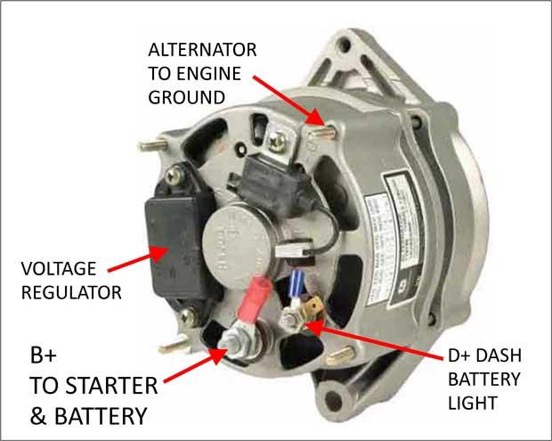 3 phase 4 pin plug wiring diagram automotive alternator output automotive  automotive alternator output automotive
