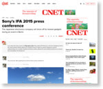 Sony's IFA 2015 press conference | CNET