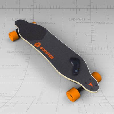 Boosted board 3D Model  FormFonts 3D Models \u0026 Textures